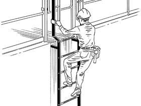 攀爬作业中的三点控制技术